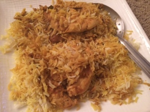 Chicken and Rice Biryani